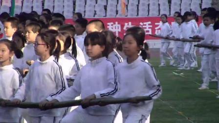 天河区中小学运动会开幕式五一节目