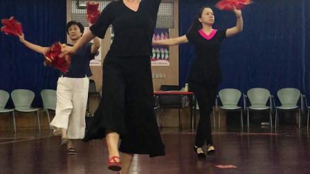 东北秧歌舞《爷爷奶奶和我们》学习…2019.11.10