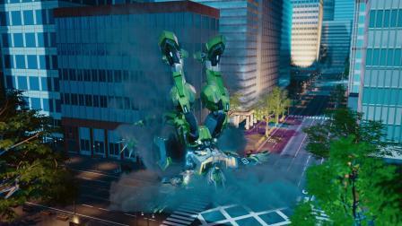 热血机甲动画《钢铁飞龙2龙魂觉醒》预告片燃情发布