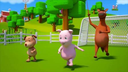 动画片,我看到一只船_幼儿园童谣_卡通影片幼儿通过Farmees
