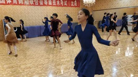 沈阳拉丁舞培训飞舞天达舞蹈学校沈河茂业百货校区在线课堂桑巴舞
