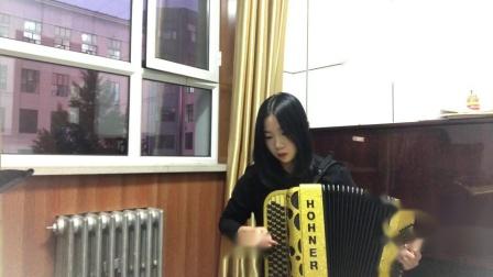 成人组  019王忻恬 《在塞纳河》深圳南山杯手风琴网络大赛