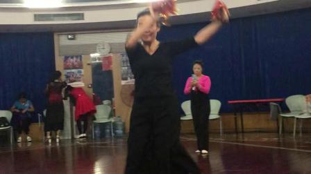 东北秧歌舞《爷爷奶奶和我们》学习…2019.11.11