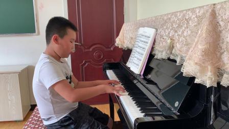 艺成钢琴单独课乔石弹奏练习曲