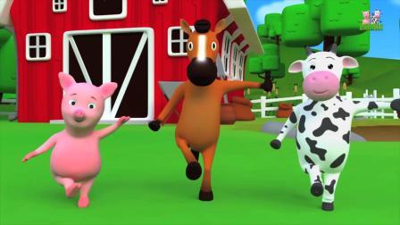 动画片,学习动物_孩子教育_动物儿歌通过farmees