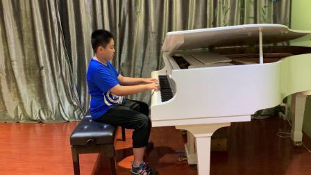 艺成钢琴单独课许文博弹奏小广板