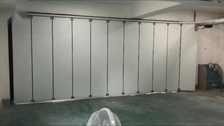 锐玛电机 侧移车库门效果演示