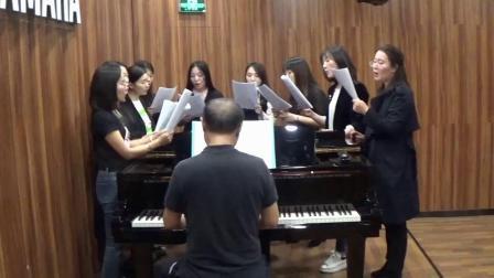 女声合唱《我爱你中国》索引,陈一新编曲,湖南羽乐女子视唱,20191112