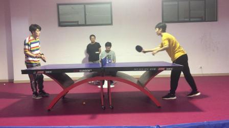 刘佳镕vs向卫星【2019年山东大学计算机科学与技术学院研究生乒乓球比赛】