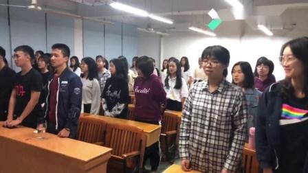 广东财经大学财政税务学院(三水校区)19级税收学四班团日活动