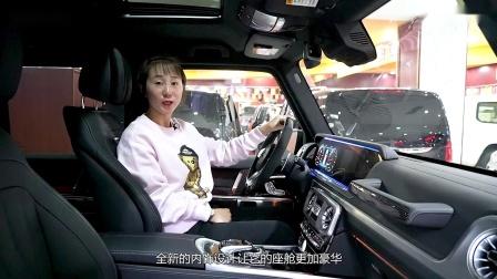 加拿大版奔驰G63全新现车视频 性能参数真人评测讲解 揭秘大G配置亮点