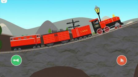 Labo积木火车预告片-超有趣的儿童火车制作/驾驶游戏