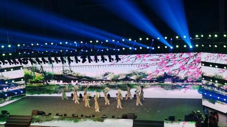 上海合作组织国家职业技能邀请赛闭幕式暨颁奖典礼舞蹈《纸扇书生》(2019.11.13山东威海)