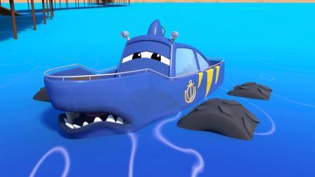 动画片,《怪兽之城》——中国马达林儿童卡通