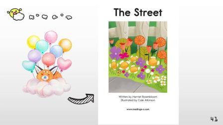 RAZ-Kids-AA级别-分级阅读-The street-Dpanda