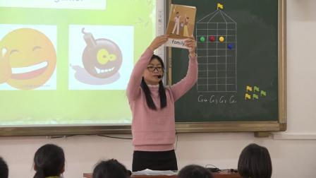 2019-2020学年第一学期三年级英语《Unit2 My family A Let s learn》逸夫小学杨永燕