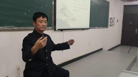 湘潭太极—夏伟湘湖南城建学院陈氏太极拳讲座展示太极拳