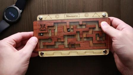 Minotaurus maze with pair of balls.