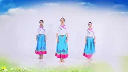 14、美丽的草原我的家-《美丽的草原我的家》蒙古舞正面演示