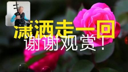 音乐欣赏:二胡伴歌《潇洒走一回》叶倩文演唱:通辽市赵万玉二胡音乐作品集。