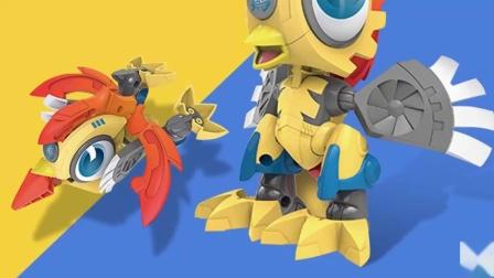 钢甲小龙侠 机甲兽神爆裂飞车之玩具