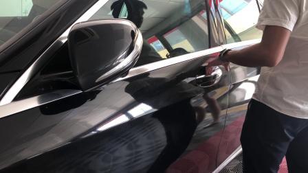 奔驰s320加装无钥匙进入舒适进入系统