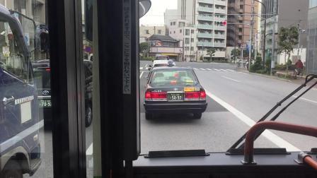 日本・東京都交通局・巴士・門33(豊海水産埠頭→亀戸駅前)2019.11.13