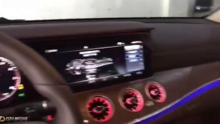 【奔驰原厂改装】奔驰E300L加装出风口氛围灯、旋转高音、发光盖板、香氛负离子。