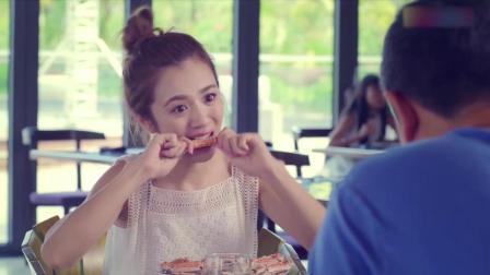 我的!体育老师 05-普通话_大叔请女孩吃自助餐,一看这吃相,大叔:小时候吃不少苦吧