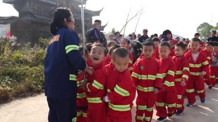 潜江市龙湾章华台幼儿园《消防总动员》大型亲子活动