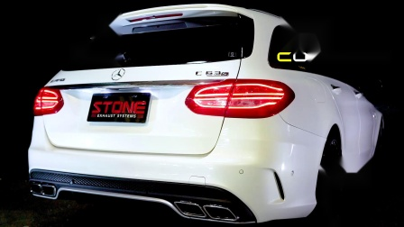 AMG M177 S205 C63s Cat-less Downpipe