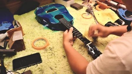 【ukulele手感调试】第二步:品丝边缘修整(未完待续)