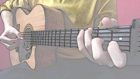 吉他指弹  莉莉安-前奏VS间奏连弹