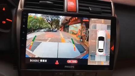 《志国汽车音响》吉利加装360全景行车记录系统