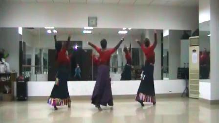 舞蹈《北京的金山上》网上学习舞蹈