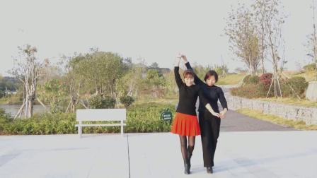 玉圃舞蹈队--三步踩  呼伦牧歌 1