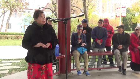 王姐演唱京剧《哭灵》选段