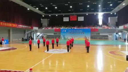 2019年上海市柔力球业余联赛总决赛  恭喜南翔镇柔力球队得冠 教练:周美琴  歌名  呼伦贝尔大草原