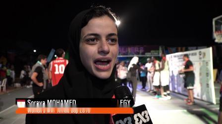 非洲杯女篮MVP集锦——索拉亚