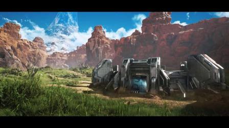 【3DM游戏网】UE4引擎重制光环血腥峡谷地图