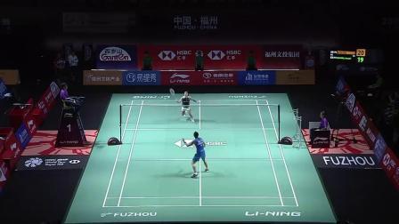 2019中国福州羽毛球公开赛最佳杀球