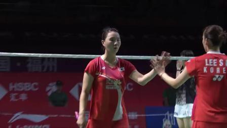 2019中国福州羽毛球公开赛最佳反手