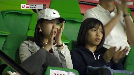 2019中国香港羽毛球公开赛 金廷VS乔纳坦·克里斯蒂