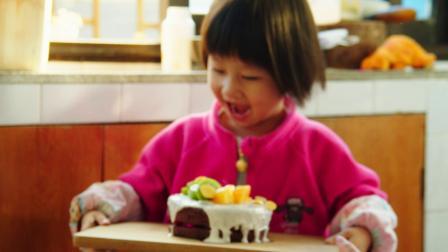 媳妇DIY小磷食手工蛋糕