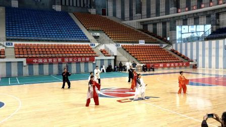 重庆合川区拳剑队老师表演:42式太极拳