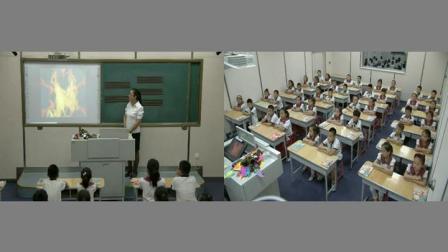 【获奖】人教精通版小学英语三年级上册Unit 3 Look at my noseLesson 18-门老师优质公开课教学视频(配课件教案)