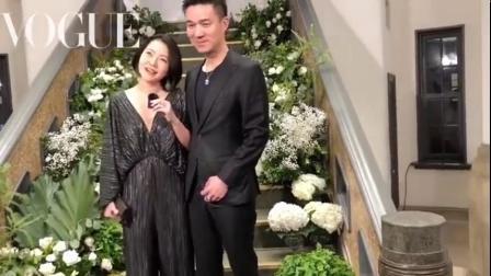 小S参加林志玲婚礼接受采访