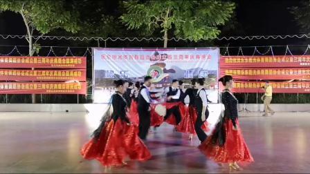 海南乐东县阳光体育舞蹈协会三周年庆典