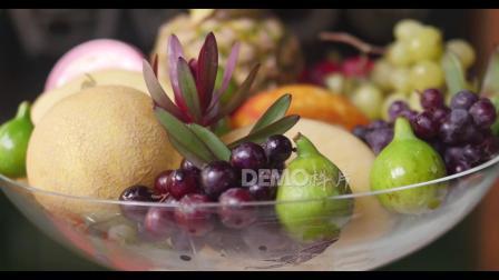 学校晚会视频 配乐 s786 2k画质菠萝哈密瓜葡萄西瓜等新鲜水果蔬菜蛋糕实拍视频素材 跳舞视频 舞台视频