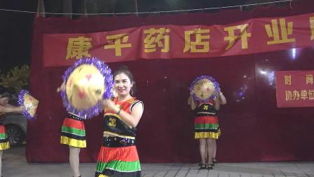 舞蹈《阿哥阿妹》板伏文艺队演出